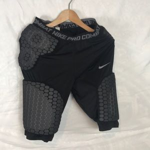 Men's Nike Pro Combat padded compression shorts L